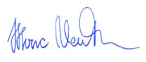 Unterschrift von Marc Venten
