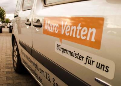 Bürgermeistermobil für Marc Venten